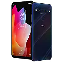 TCL 10L, Unlocked Android Smartphone with 6.53″ FHD + LCD Display, 48MP Quad Rear Camera System, 64GB+6GB RAM, 4000mAh Battery
