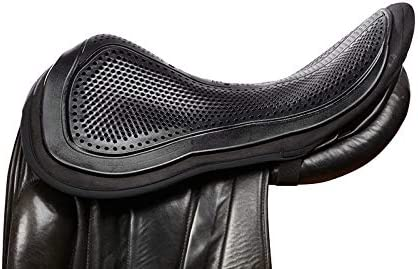 Acavallo out Seat Saver Black Large Protector de Asiento de Gel (tamaño Grande), Color Negro, Unisex, L
