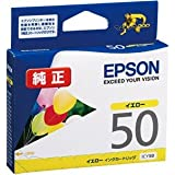 EPSON インクカートリッジ ICY50 イエロー