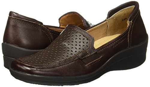 Mujer Hush Mocasines HF2802 Chocolate para Puppies IrrwOgqF