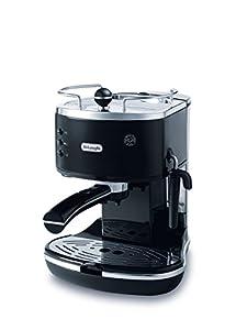 Delonghi ECO310BK Icona Machine à Espresso 15 Bars Noir Glossy Manuelle