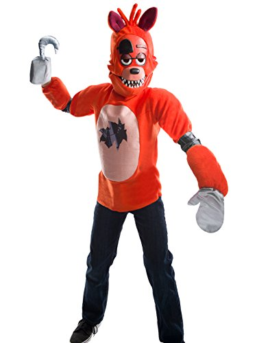 Rubie's Costume Boys Five Nights at Freddy's Foxy The Pirate Costume, Large, Multicolor ()