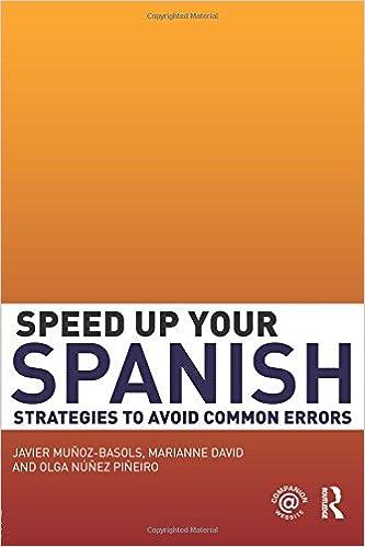 Amazon Com Speed Up Your Spanish Strategies To Avoid