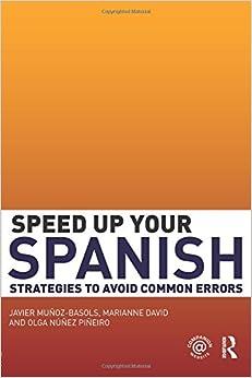 Book Speed Up Your Spanish: Strategies to Avoid Common Errors