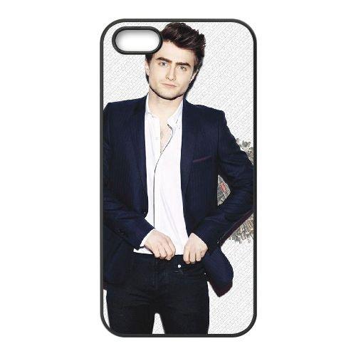 Daniel Radcliffe 005 coque iPhone 5 5S cellulaire cas coque de téléphone cas téléphone cellulaire noir couvercle EOKXLLNCD23038