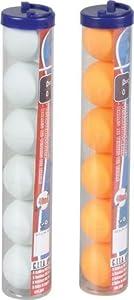 Sport Otto Tischtennisbälle 6 Stück (weiß)