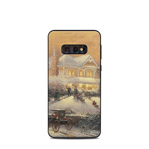 - Victorian Christmas Protective Decal Sticker for Samsung Galaxy s10e - Scratch Proof Vinyl Skin Wrap Thin Edge Line Cover and Made in USA