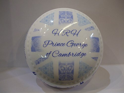 Aynsley English Bone China COMMEMORATIVE Birth Of HRH Prince George Trinket Box Aynsley English Bone China