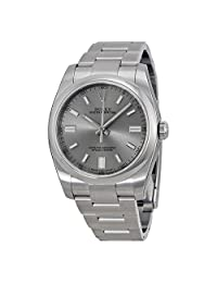 Rolex Oyster Perpetual 36 mm Stainless Steel Automatic Mens Watch 116000RSO