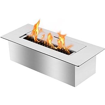 ethanol fireplace insert grate toronto lowes burner