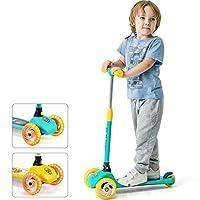 Deals on Luddy Kids 3-Wheel Folding Kick Scooter