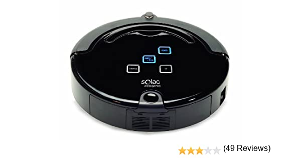 Solac AA3400 EcoGenic - Robot aspirador, color negro: Amazon.es: Hogar