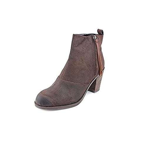 DV By Dolce Vita Women's Joust Ankle Boot,Brown Suede,9.5 M US (Dv Ankle Boots)