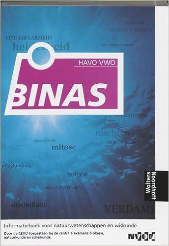 Binas Havo Vwo Informatieboek 5de Editie Binas Informatieboek Voor Natuurwetenschappen En Wiskunde 9789001893804 Amazon Com Books