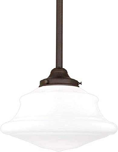 Hudson Valley Lighting 3412-OB Petersburg Collection – One Light Pendant, Old Bronze