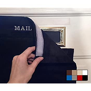 SNAIL SAKK: Mail Catcher For Mail Slots   BLACK. No More Mail On The