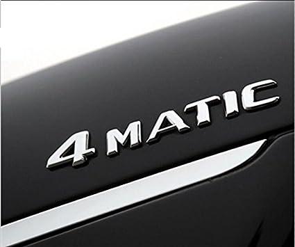 Amazoncom E619 4 Matic Emblem Badge Auto Aufkleber 3d Car