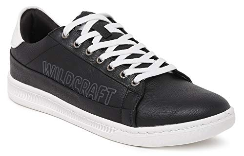 Black Plazzo Casual Shoes WC 51552 BLK