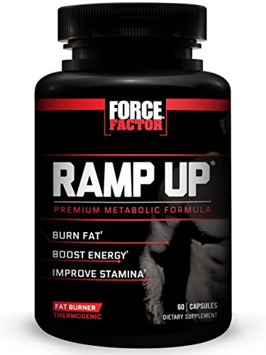 Ramp Up Thermogenic Supplement to Boost Energy and Stamina, Reduce Fatigue, and Speed Recovery, Force Factor, 60 Count