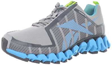 Reebok Women's Zigwild TR 2 Running Shoe,Grey/Blue/White/Green/Gravel,5 M US
