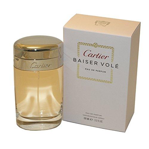 Cartier Baiser Vole Eau De Perfume Spray for Women, 3.3 Ounce (De Eau Cartier Spray Parfum)