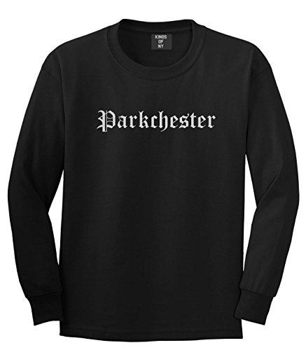 Kings Of NY Parkchester City New York NY Goth Long Sleeve T-Shirt XXX-Large - Ny Parkchester