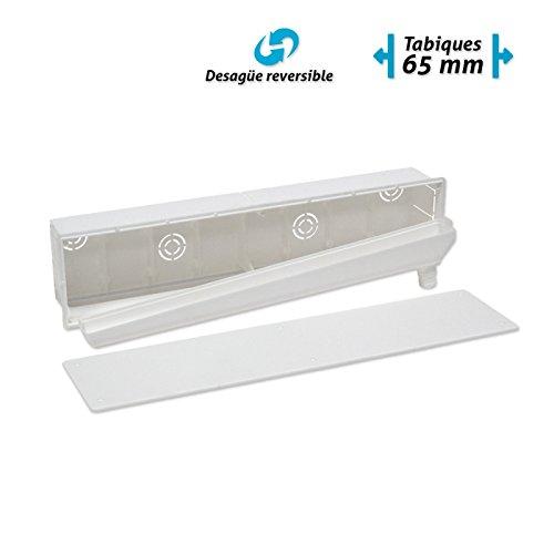 Caja de preinstalaci/ón con desag/üe muro Salida Vertical