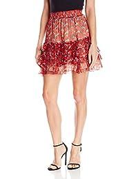 Women's Starlight Print Skirt