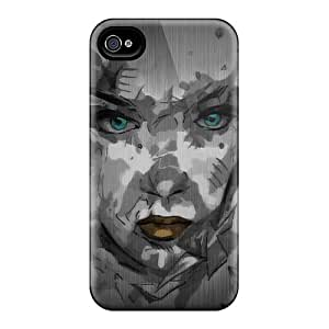 Iphone 4/4s XbW2684mmCU Support Personal Customs Fashion Mayhem Band Pictures Bumper Hard Cell-phone Cases -JasonPelletier