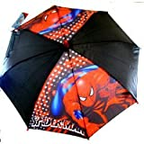 Marvel Spiderman Umbrella Red/Black (Kids)