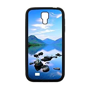 Personalized Creative Cell Phone Case For Samsung Galaxy S4,glam blue sky and river
