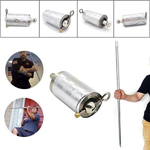 2020 Tasche Staff Tragbar Kampfsport Magic Metallstab Selbstverteidigung Stick