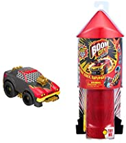 Boom City Racers - Starter Pack - Lights and Sound Launcher with Stunt Set, Multicolor (40038)
