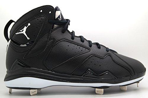 NIKE [684943-010] AIR Jordan 7 Retro Metal Mens Sneakers AIR JORDANBLACK WHITEM ()