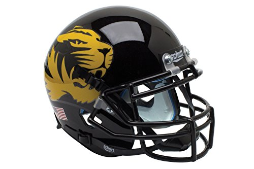 NCAA Missouri Tigers Gloss Authentic Helmet, One Size