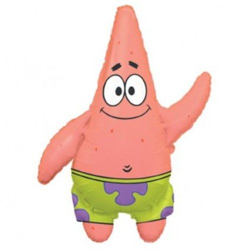 Spongebob Squarepants Patrick Jumbo Mylar Balloon Supershape -