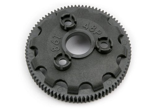 Traxxas 4686 Spur gear, 86-tooth (48-pitch) (for models with Torque-Control slipper clutch) (86)