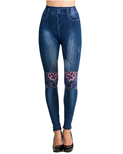 BASICO Leggings Distressed Stretchable Jeggings