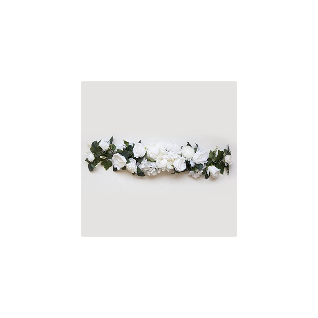 32-Silk-Rose-Flowers-Swag-Small-Wreath