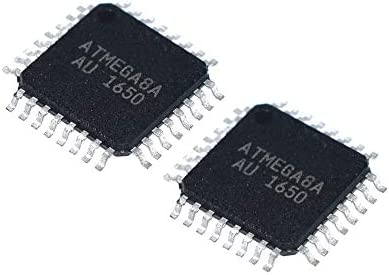 HONG-YANG Digitale 2pcs / Lot ATmega8A-AU 32TQFP MCU IC Chip 8-Bit-Mikrocontroller AVR Zubehör