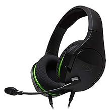 HyperX CloudX Stinger Core - Audífonos para gaming con licencia oficial de Xbox ( Xbox One, PS4, PUBG, Fortnite, Crackdown) HX-HSCSCX-BK