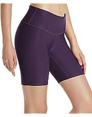 Tesla Women's Active Bike Running Yoga Shorts Side/Hidden Pocket Series