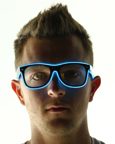 Electric Styles Light Up El Wire Glasses -