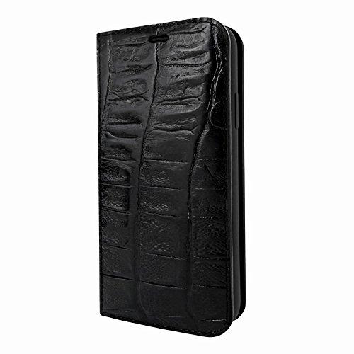 (Piel Frama iPhone X/Xs FramaSlimCards Leather Case - Black Wild Cowskin-Crocodile)
