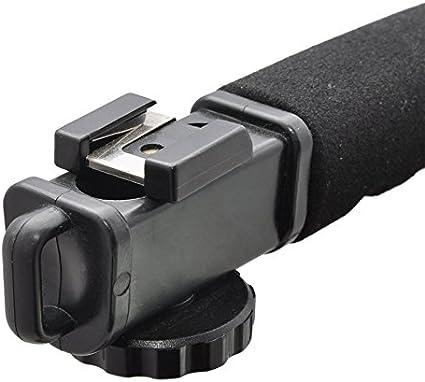 Pro Video Stabilizing Handle Grip for Sony Cyber-Shot DSC-H7 Vertical Shoe Mount Stabilizer Handle