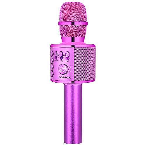 Big Save! BONAOK Wireless Bluetooth Karaoke Microphone,3-in-1 Portable Handheld karaoke Mic Thanksgi...