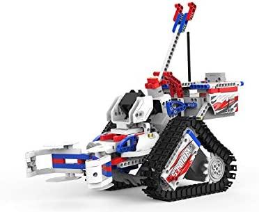 UBTECH JIMU Robot Competitive Series: Champbot Kit/ App-Enabled Building & Coding STEM Robot Kit (522 Pcs) from Robotics