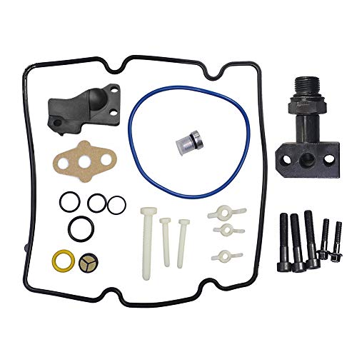 6.0L STC HPOP Fitting Update O-Ring Repair Kit 4C3Z-9B246-F Fit for Ford F250, F350, F450, F550 Vehicles (Ford 6-0 High Pressure Oil Pump Replacement)