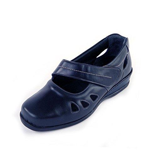 Otra mujer marino azul Sandpiper de cordones para Piel de Zapatos pIzzqfS