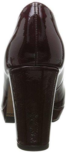 s.Oliver Damen 22402 Pumps Rot (Bordeaux Pat.)